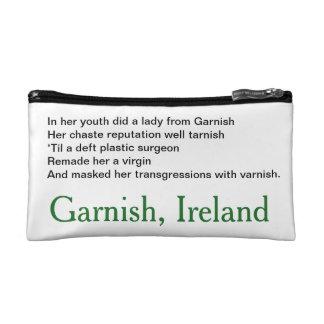 Tote - Garnish Limerick Makeup Bag
