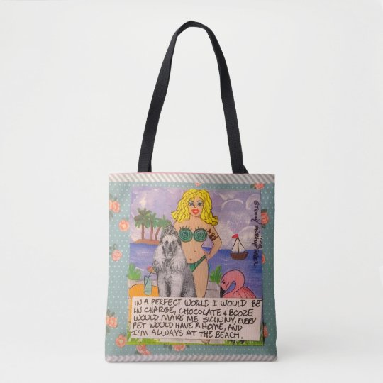Tote-in a perfect world every dog would have a tote bag