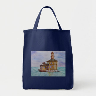 Tote - Lighthouse Grocery Tote Bag