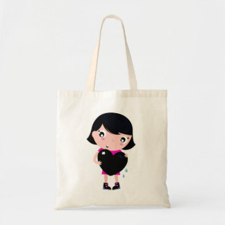 Tote lowcost bag : with Emo Girl