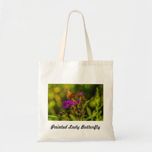 Tote - Painted Lady Butterfly Tote Bag