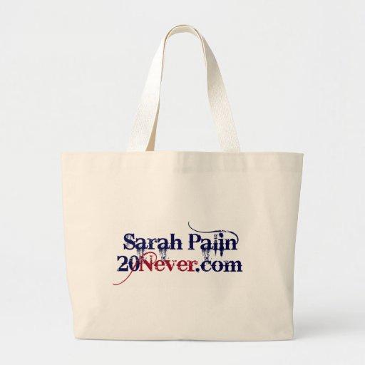 Tote - Sarah Palin 20Never Bag
