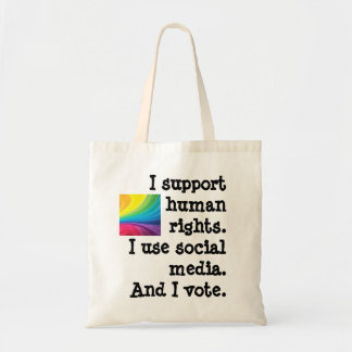Tote the Vote - Support Human Rights Bag