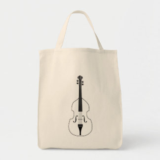 Tote - Upright (Double) Bass.  Pick your style! Grocery Tote Bag
