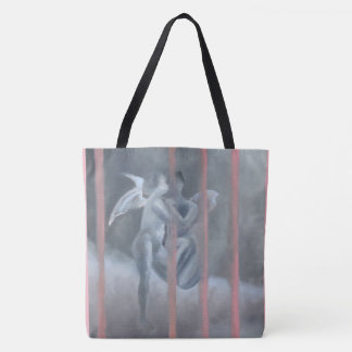 Tote with angels