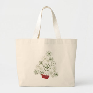 Tote with Christmas tree Tote Bags
