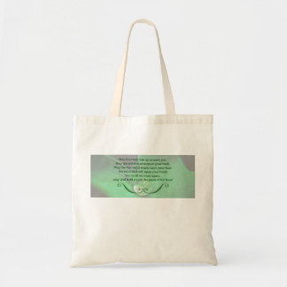 Tote with Irish Blessing