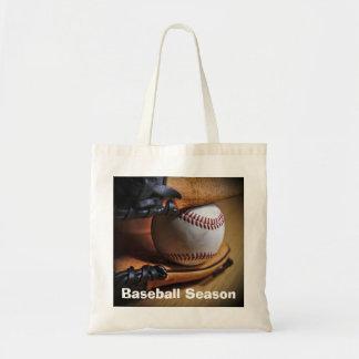 ToteBag: Baseball Season Budget Tote Bag