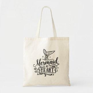 Totebag - Mermaid at Heart Tote Bag