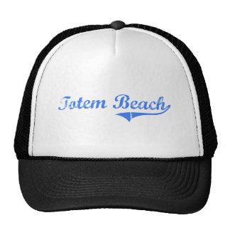 Totem Beach Washington Classic Design Hat