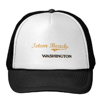 Totem Beach Washington Classic Trucker Hats
