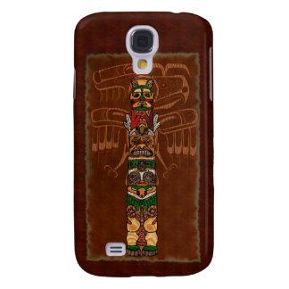Totem Native American Folk Art Samsung Galaxy S4 Case