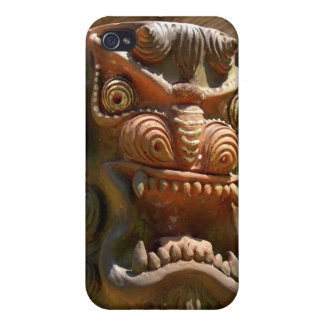 totem pole face  iPhone 4/4S cases