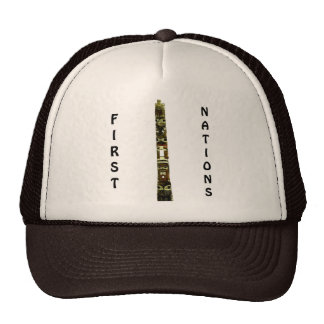 TOTEM POLE FIRST NATIONS Series Trucker Hats