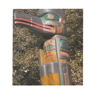 Totem pole in park in Ottawa, Ontario, Canada Notepads