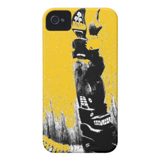 Totem Pole iPhone 4 Cases