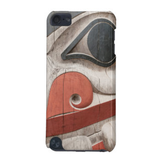 Totem poles at Haida Heritage Centre Museum iPod Touch (5th Generation) Case