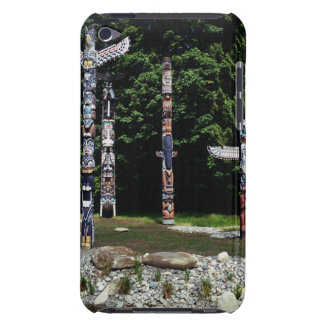 Totem poles, Vancouver, British Colombia iPod Touch Case-Mate Case