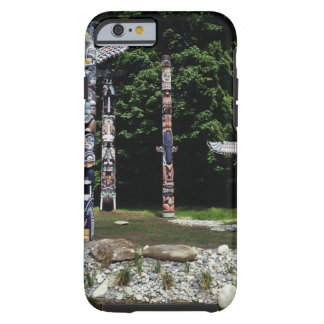 Totem poles, Vancouver, British Colombia Tough iPhone 6 Case