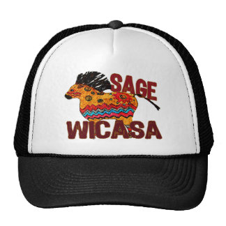 Totem Pony Wicasa the Sage Gifts Hats