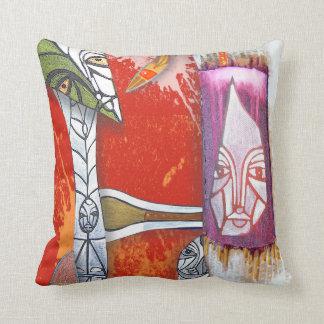 totem shamans throw cushion
