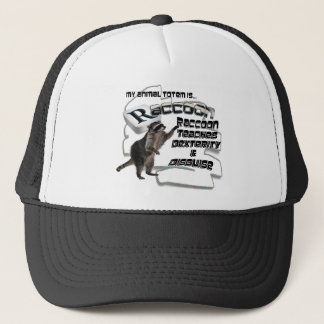 TOTEMS TOTEM RACCOON TEACHES DEXTERITY / DISGUISE TRUCKER HAT