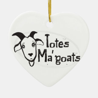 Tote's Ma' Goats Christmas Ornament