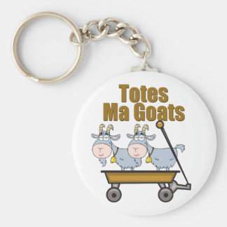 Totes Ma Goats Key Ring