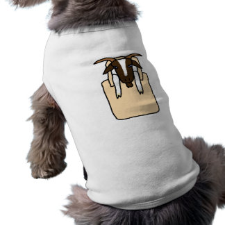 Totes ma Goats (No Text) Sleeveless Dog Shirt