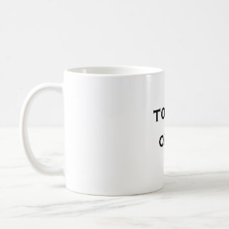 totes obvi coffee mug