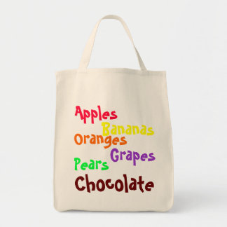 Toting Art - Important Grocery List
