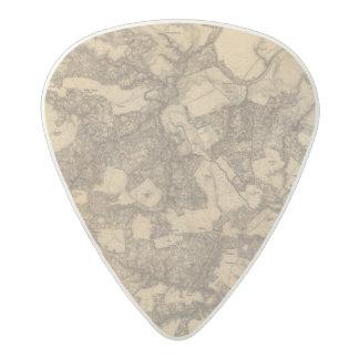 Totopotomoy, Virginia Acetal Guitar Pick