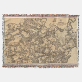 Totopotomoy, Virginia Throw Blanket