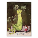 Totoro and AlIce (it's a long story) Greeting Card