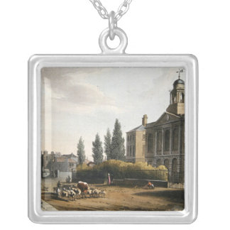 Tottenham Court Road Turnpike Silver Plated Necklace