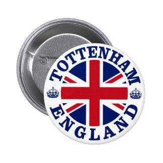 Tottenham Vintage UK Design 6 Cm Round Badge
