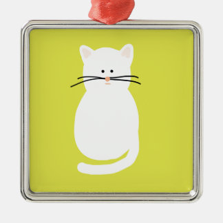 Totty The Cat. Colourful bright cat art Christmas Ornament