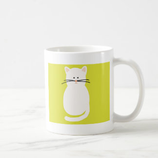 Totty The Cat. Colourful bright cat art Coffee Mug