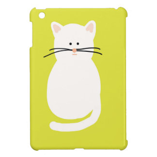 Totty The Cat. Colourful bright cat art Cover For The iPad Mini