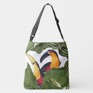 Toucan Birds Wildlife Animals Leaves Tote Bag