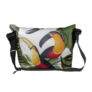 Toucan Birds Wildlife Animals Messenger Bag
