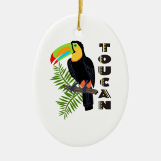 TOUCAN CHRISTMAS ORNAMENT