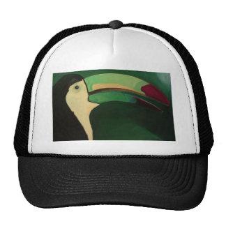 Toucan clothes mesh hats