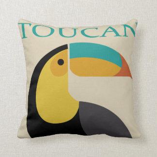 toucan cushion