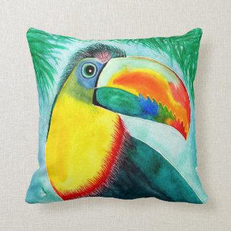 Toucan design decorative pillow/cushion throw pillow