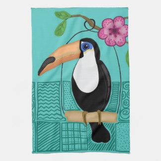 Toucan Dish Towel