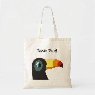 Toucan Do It! Totebag Tote Bag
