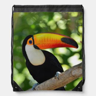 Toucan Drawstring Bag