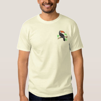 Toucan Embroidered T-Shirt