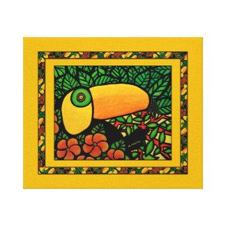Toucan Exotic Colorful Tropical Bird Canvas Print